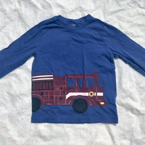 Hanna Andersson Long Sleeve T-shirt, Size 4